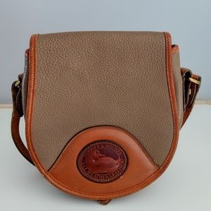 Vintage Dooney&Bourke Pebble Leather Bag duck logo